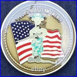USN SBU-20 US Navy Special Seal Boat Unit 20 challenge coin