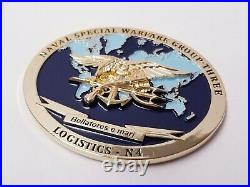 USN SEAL Naval Special Warfare Group 3 Logistics N4 Bellatores e mari Coin