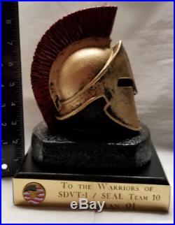USN SEAL ST10 SDVT-1 Spartan 01 Naval Special Warfare OP RED WINGS AFG Statue