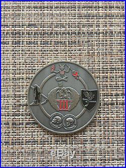 USN, Seal Team 7, 3 Troop, Trident 1730 Deployment to Iraq 2015 Challenge Coins