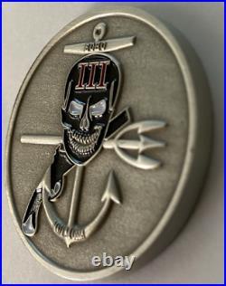 USN US NAVY SEAL TEAM 3 TASK UNIT 2 ECHO PLATOON MALI Ad OSSA CHALLENGE COIN