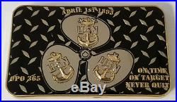 USN US Navy CPO Chief Petty Officer Naval Special Warfare Group Four Chief Mess