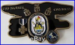 USN US Navy CPO Chief Petty Officer USS McFaul Seal Team Four KIA Donald Mcfaul