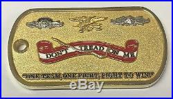 USN US Navy Naval Special Warfare Unit 3 At The Tip of The Spear Dog Tag Coin