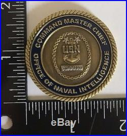 USN US Navy Office of Naval Intelligence Command Master Chief
