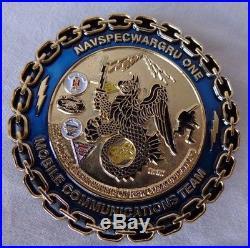 USN US Navy SEAL CPO Chief NAVSPECWARGRU One Moblie Communications Team 2.5