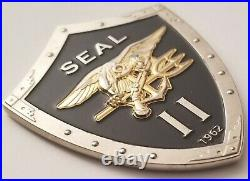 USN US Navy SEAL TEAM 2 Naval Special Warfare Development Group Chiefs Coin