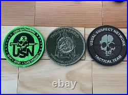 USN Usual Suspect Network Moral Patch Set Tactical Team, G-IV, The Gathering