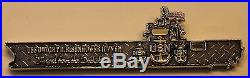 USS Dwight D. Eisenhower (CVN-69) (Ike) ser#FY16 260 Navy Challenge Coin