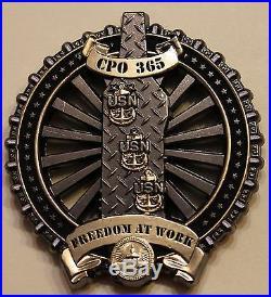 USS George H. W. Bush (CVN-77) Chief's Mess Navy Challenge Coin