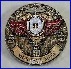 USS Michael Murphy DDG-112 Murphy's Chiefs Mess Navy Challenge Coin SEAL