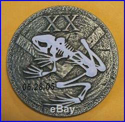 USS Michael Murphy Navy SEAL SDVT-1 Glowing Bone Frog Navy Challenge Coin