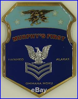 USS Michael Murphy SDVT-1 SEAL First Class Petty Officer Navy Challenge Coin