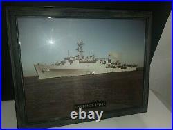 USS PONCE LPD -15 FRAMED NAVY HOSTORY 20.5x16.5