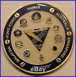 USS Ronald Reagan (CVN-76) CVW-14 OIF Navy Challenge Coin