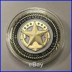 USS Vandegrift (FFG-48) Presented by the Commanding Officer Navy Challenge Coin