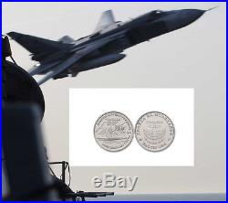 US Army US Navy USS Donald Cook Russian Air Force SU24 Baltic Sea Challenge Coin