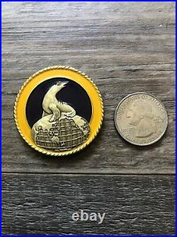 US Naval Special Warfare Group 1 NSWG-1 Navy Seal Commanders challenge coin RARE