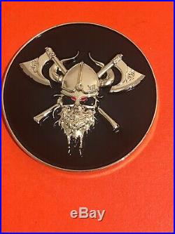 US Navy SEAL Team Eight ST8 Troop 3 Sons of Odin NSW SOF Morale Challenge Coin