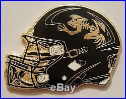 US Navy SEALs UCLA Football 2015 Bone Frog Helmet Coin