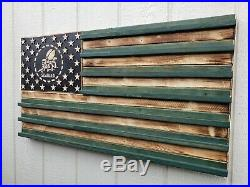 US Navy Seabees Engraved Rustic Challenge Coin Display Holder Collectable Gift