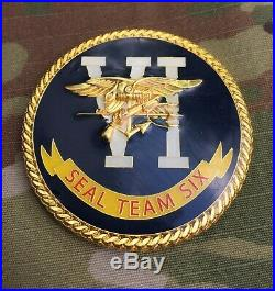 US Navy Seal Team 6 VI Six DEVGRU Naval Warfare Development Group Challenge Coin