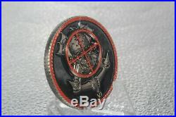 US Navy Seal Team Eight DEVGRU Stephen Turbo Toboz JR. Challenge Coin