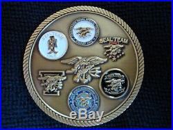 US Navy Seal Team Eighteen Challenge Coin