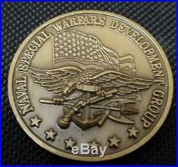 US Navy Seal Team Six DEVGRU Challenge Coin v2