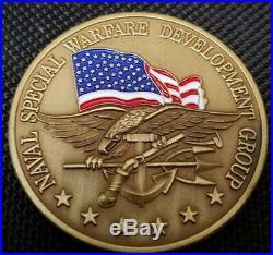 US Navy Seal Team Six DEVGRU Challenge Coin v3 Color in Flag Version