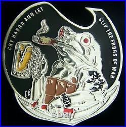 US Navy Seal Team Three 3 Cry Havoc Challenge Coin