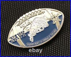 US Secret Service ARMY NAVY POTUS TRUMP TRIP Challenge Coin