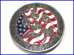 U. S. Navy EOD Group Two CPOA Results, Not Excuses! Large 2.5 Challenge Coin