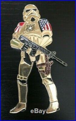 U. S. Navy Naf Atsugi Star Wars, Storm Trooper Cpo Mess Challenge Coin