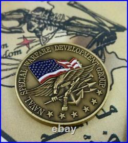 U. S. Navy Seal Challenge Coin / Authentic Seal Team Six 6 Devgru Jsoc / Nswdg