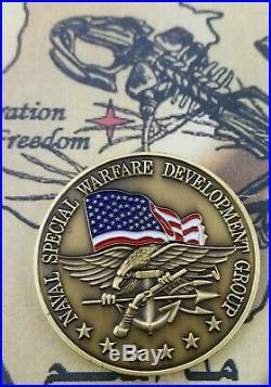 U. S. Navy Seal Challenge Coin / Seal Team Six 6 Devgru / Jsoc Authentic
