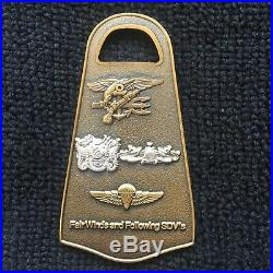 U. S. Navy Seal Delivery Vehicle Team Two SDVT-2 Challenge Coin