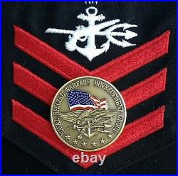U. S. Navy Seal Team 6 Challenge Coin / Authentic / Nswdg / Devgru