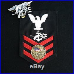 U. S. Navy Seal Team 6 Challenge Coin / Navspecwar / Devgru / Jsoc Authentic