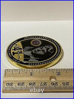 U. S. Navy USS George H. W. Bush CVN-77 Challenge Coin