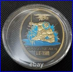 Ultra Rare US Special Operations Command USSOCOM NAVSPECWARCOM Navy SEAL Oval Sh