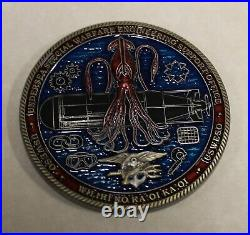 Undersea Special Warfare Engineering PEO SEAL Submergence Navy Challenge Coin