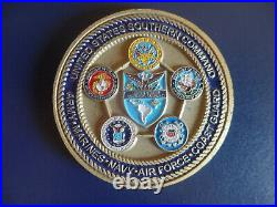 United States Navy United States Southern Command Commander Challenge Coin