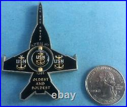 Us Navy Challenge Coin Strike Fighter Squadron Fourteen (vfa-14) Cpo Spinner