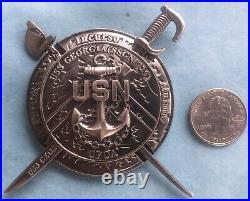 Us Navy Challenge Coin Uss Georgia (ssgn-729) Chief Mess Cpo