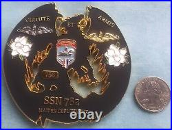 Us Navy Challenge Coin Uss Mississippi (ssn-782) Maiden Deployment