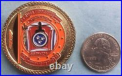 Us Navy Challenge Coin Uss Tennessee (ssbn-734) Commanding Officer (co)
