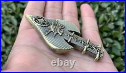 Usn Navy Seals Seal Team 6 VI Soc Tip Of The Spear Nsw Challenge Coin Cpo Chief