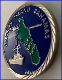 Usn Navy Utec Naval Undersea Warfare Ctr Det Autec Andros Island Bahamas