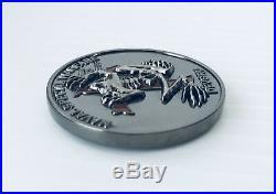 Usn Seal Team 6 VI Six Devgru Nsw Indian Head Tribe Bone Frog Challenge Coin Cpo